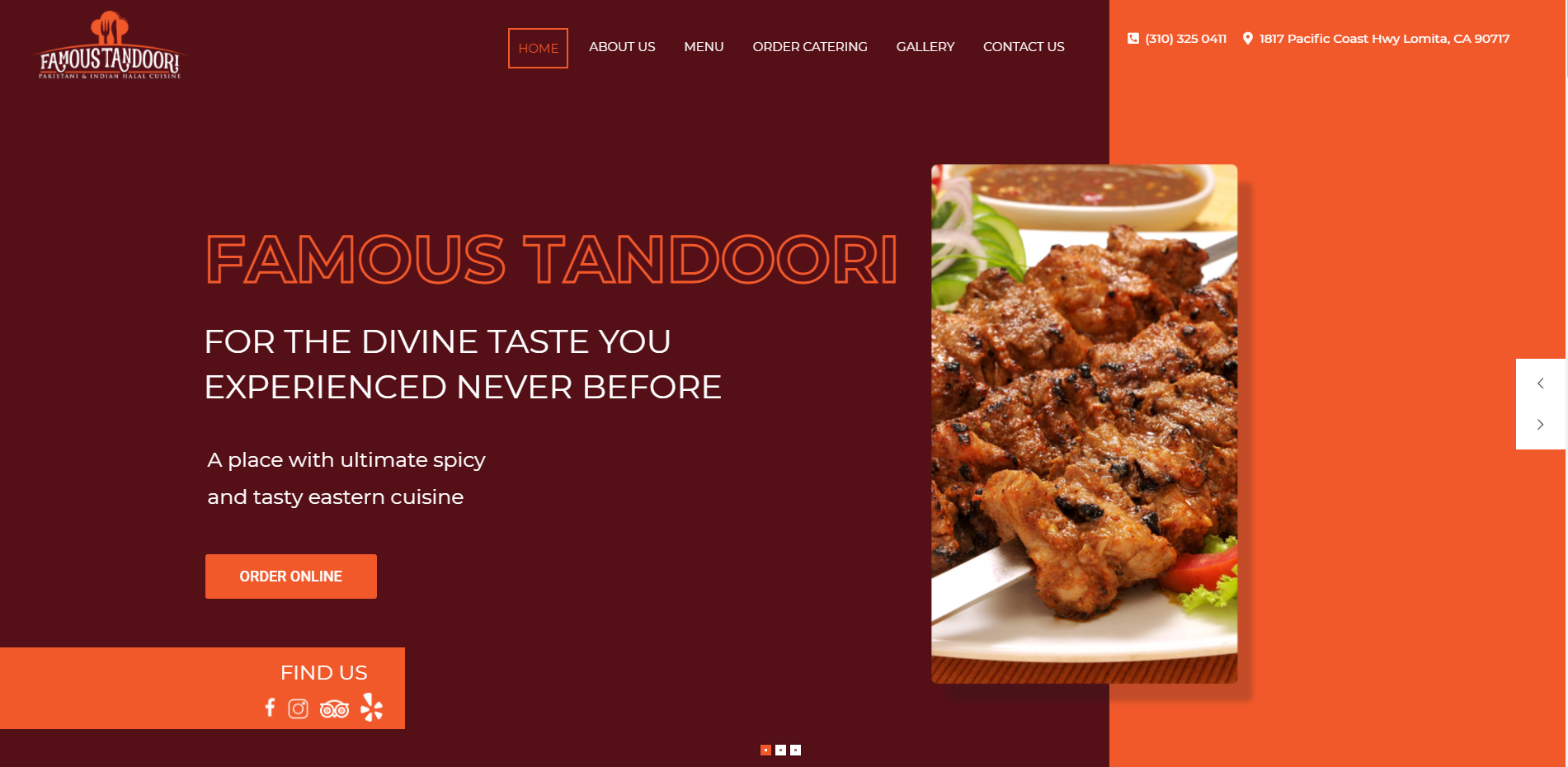famous tandoori