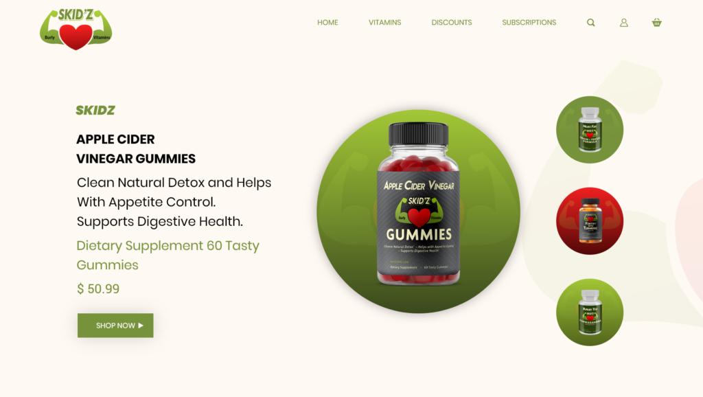 skidz burly vitamins 1