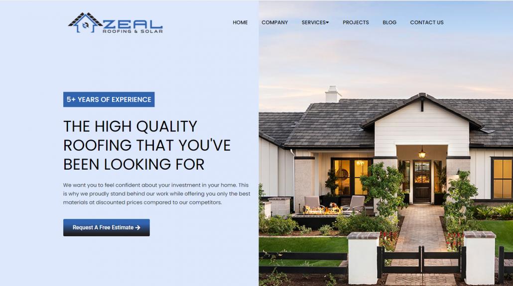 zeal roofing